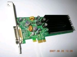 VIDEO PCI-E-1x 128MB NVIDIA QUADRO NVS285 DMS59