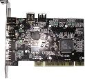 КОНТРОЛЕР PCI TO  1394+USB