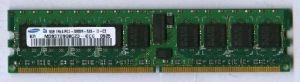 DDR2 ECC 1GB PC4200